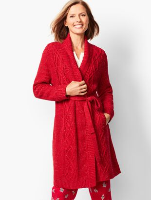 Donegal Cable Robe