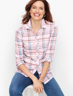 Classic Cotton Shirt - Multi Plaid