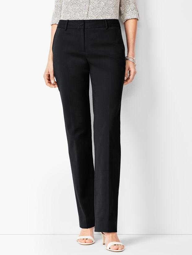 Cotton Bi-Stretch Barely Boot Pants