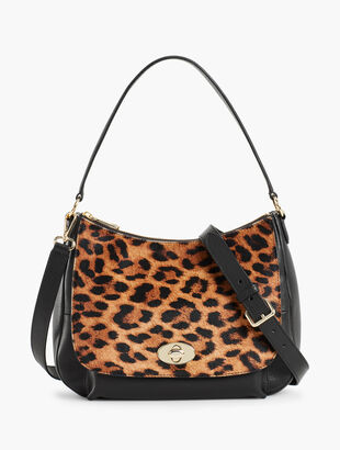 Calf Hair Classic Hobo Bag