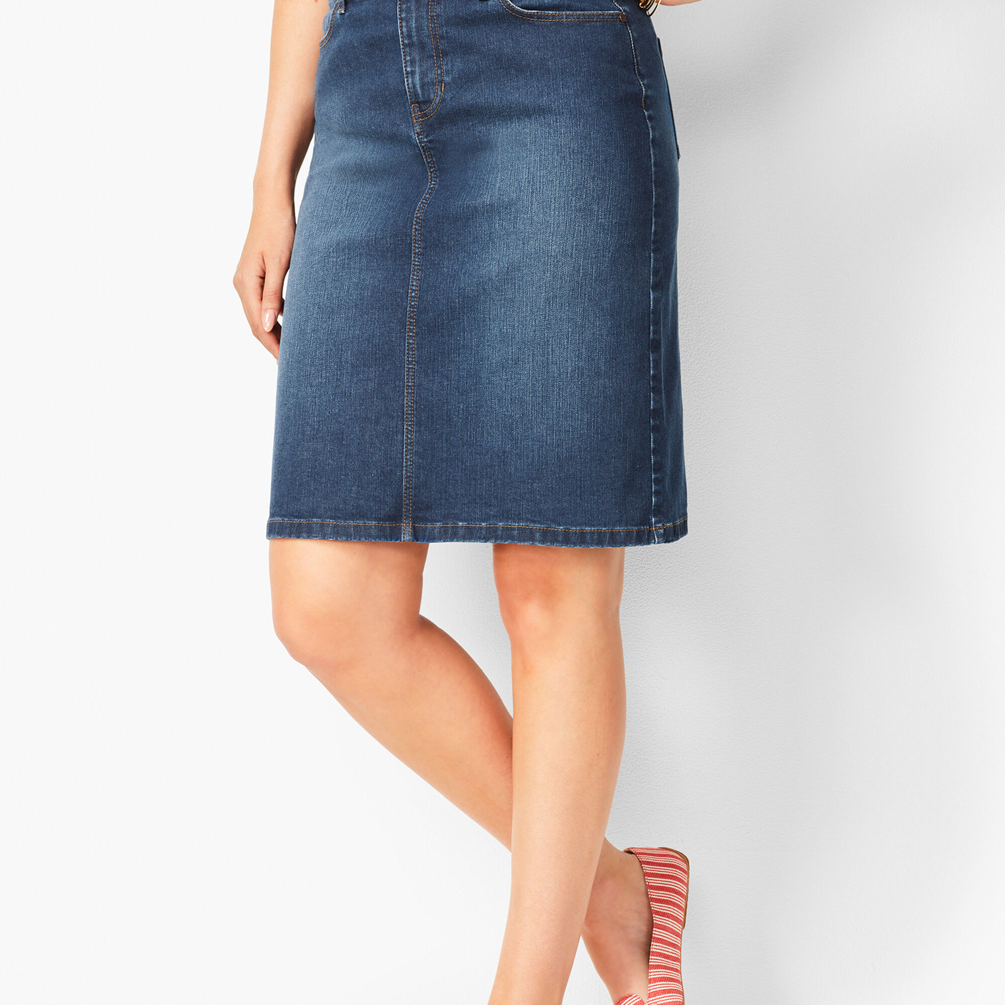 new lower prices details for exclusive shoes Classic Denim Skirt