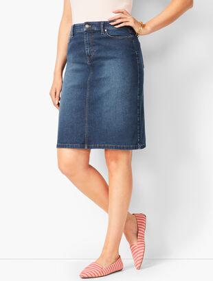 Classic Denim Skirt