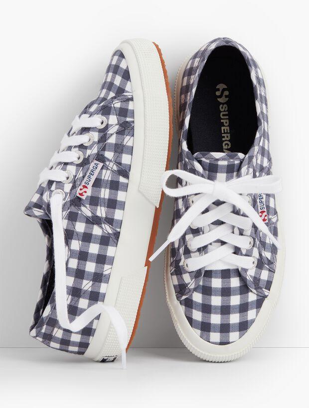 Superga® Sneakers-Gingham