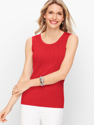 Textured Sweater Shell