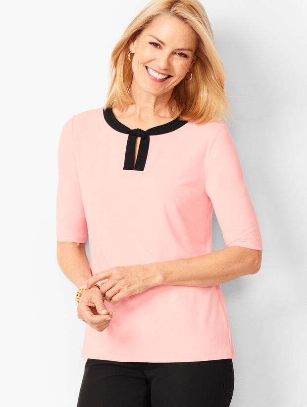 Twisted Keyhole Top - Solid