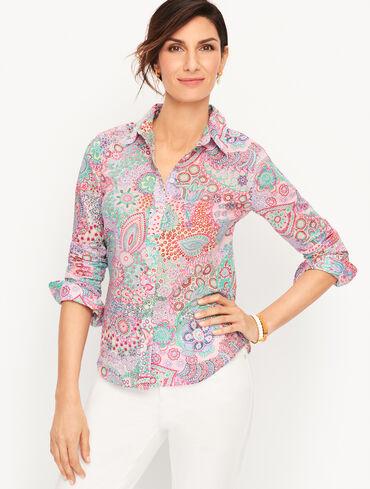 Classic Cotton Shirt - Dreamy Paisley