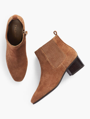 Dakota Gore Ankle Boots - Suede
