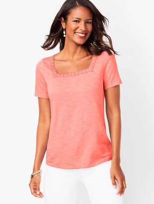 0a51cf8ee92 Petite Tees and Knits | Talbots