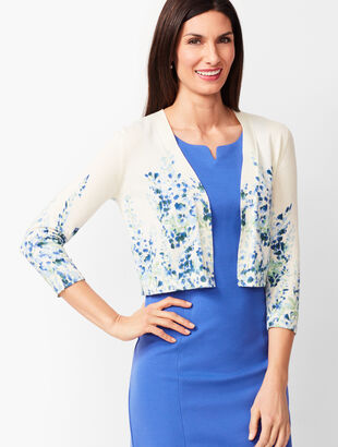 Classic Dress Shrug - Floral
