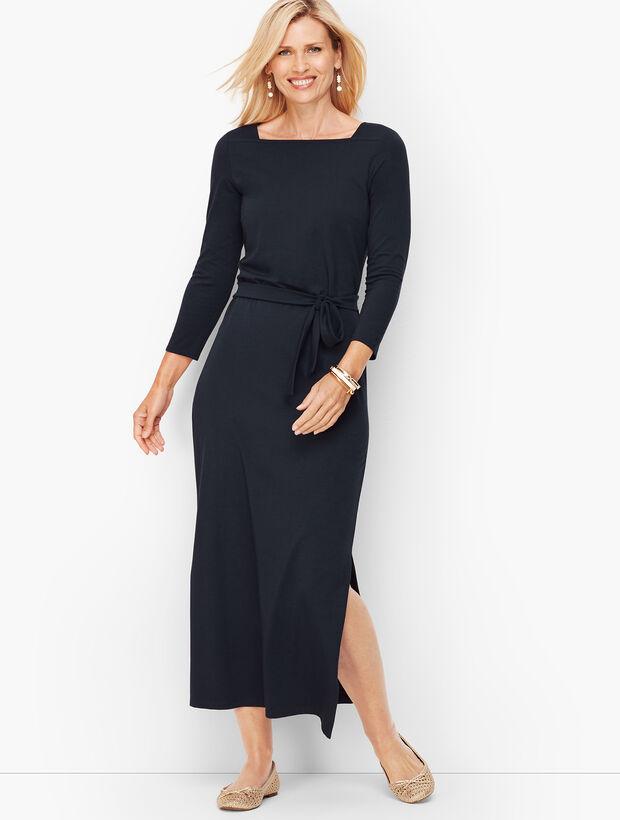 Jersey Maxi Dress - Solid