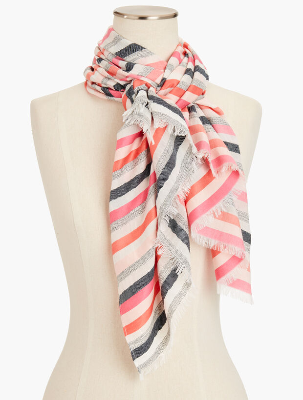 Sunset Stripe Scarf