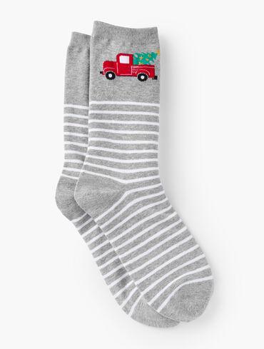 Jolly Truck Trouser Socks