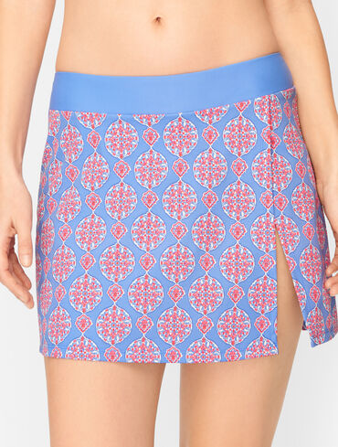 Cabana Life® Side Slit Swim Skirt - Maldives