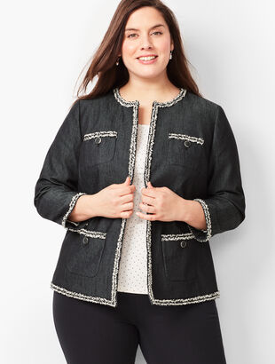ad8324c0aa8a4 Plus Size Jackets and Outerwear