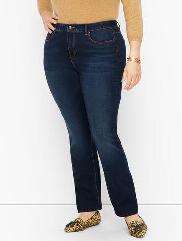 Plus Size Exclusive Straight Leg Jeans - Venus Wash