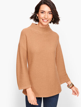 Cashmere Link Stitch Sweater