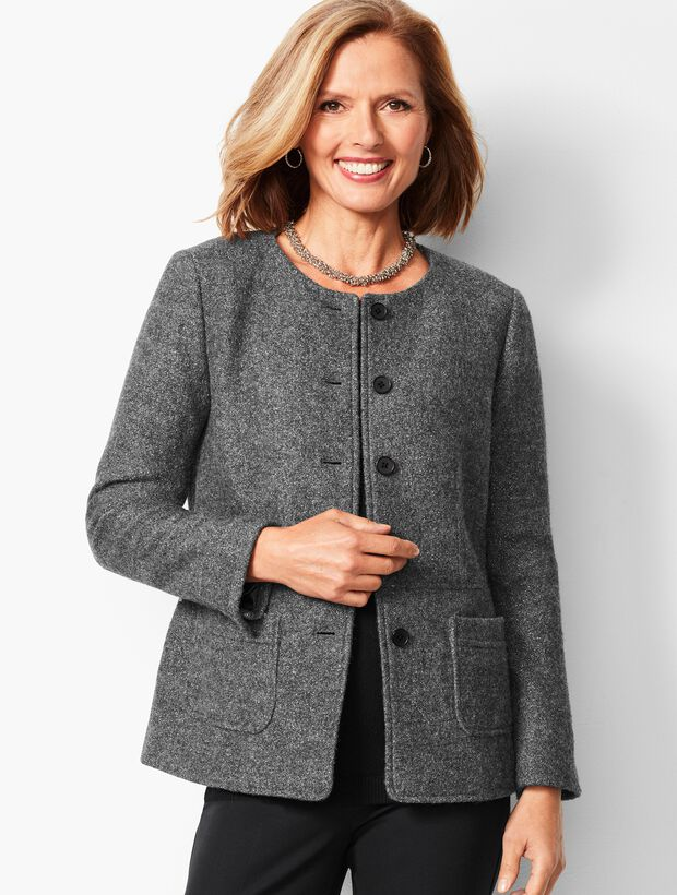 Boiled Wool Jacket - Shimmer