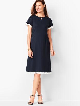 Refined Ponte A-Line Dress