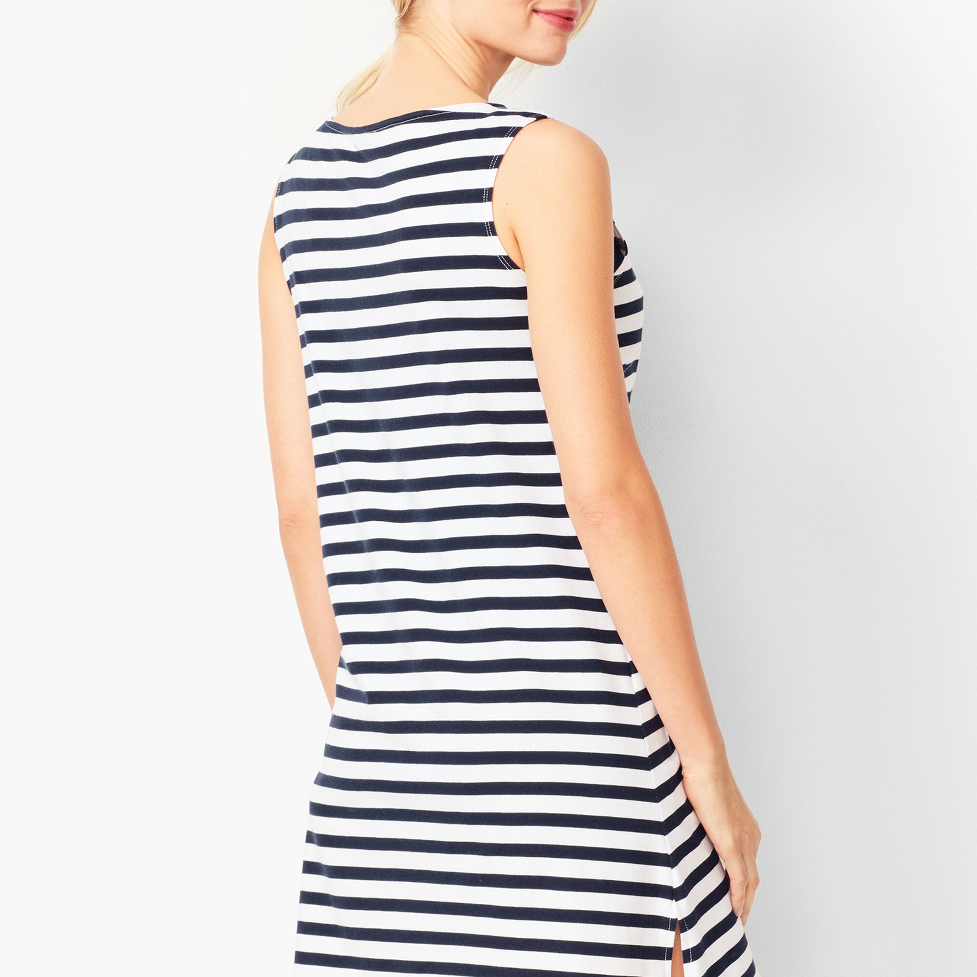 8811daef193c5 Stripe Beach Cover-Up Opens a New Window.
