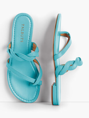Gia Twist Sandals - Solid