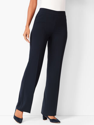 Easy Travel Wide-Leg Pants