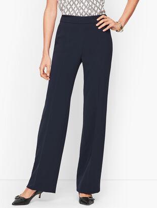Easy Travel Wide-Leg Pants