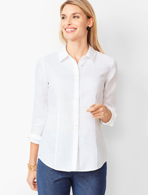 Perfect Shirt - Long Sleeves - Linen