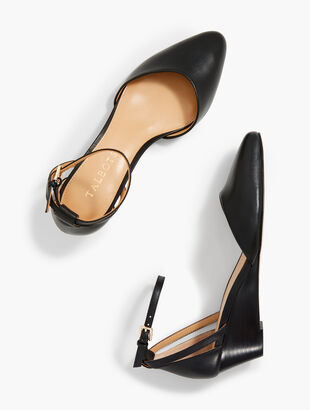 Laney d'Orsay Wedges - Nappa Leather