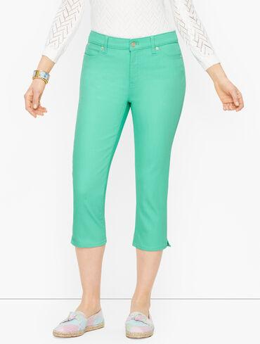 Pedal Pusher Jeans - Colors - Curvy Fit
