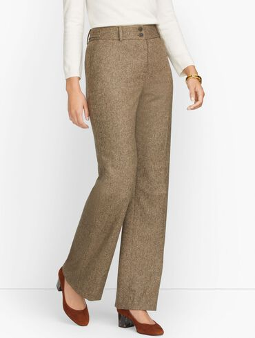High Waist Flare Pants - Donegal