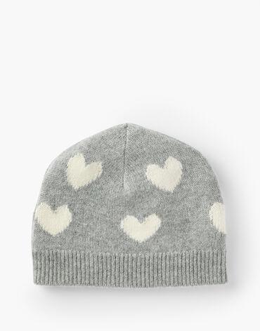 Cashmere Hearts Beanie