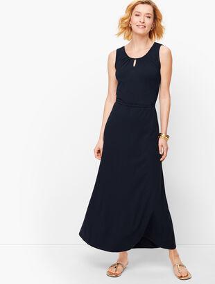 Jersey Maxi Dress- Solid