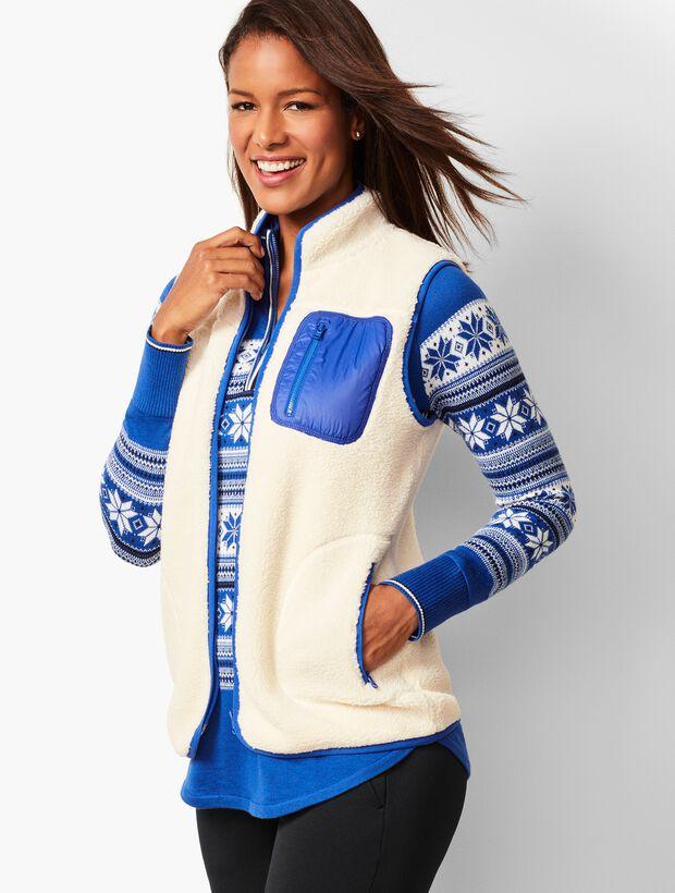 Cozy Sherpa Vest