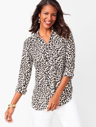 Soft Shirt - Leopard