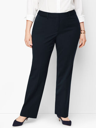 Refined Bi-Stretch Barely Boot Pants - Curvy Fit