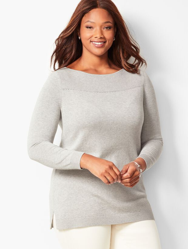 Plus Size Ribbed Sweater