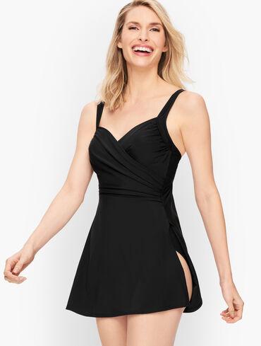 Miraclesuit® Sanibel Swim Dress - Solid