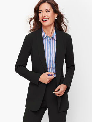 Easy Travel Collection - Long Shawl-Collar Jacket