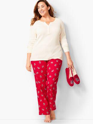 Pajama Set - Scotty-Dog Flannel