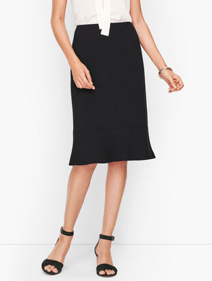 Easy Travel Flare Hem Skirt