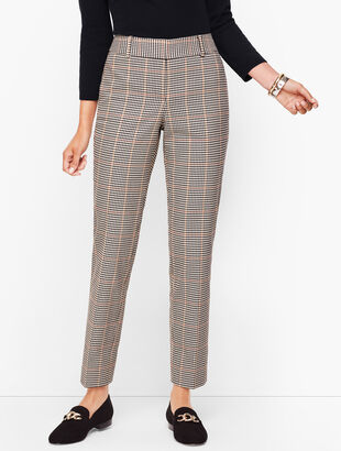 Talbots Hampshire Ankle Pants - Colton Check