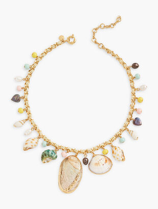 Seashell Statement Necklace
