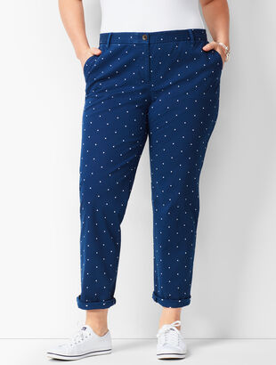 Girlfriend Chinos - Dot