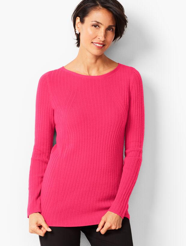 Merino Ribbed Sweater