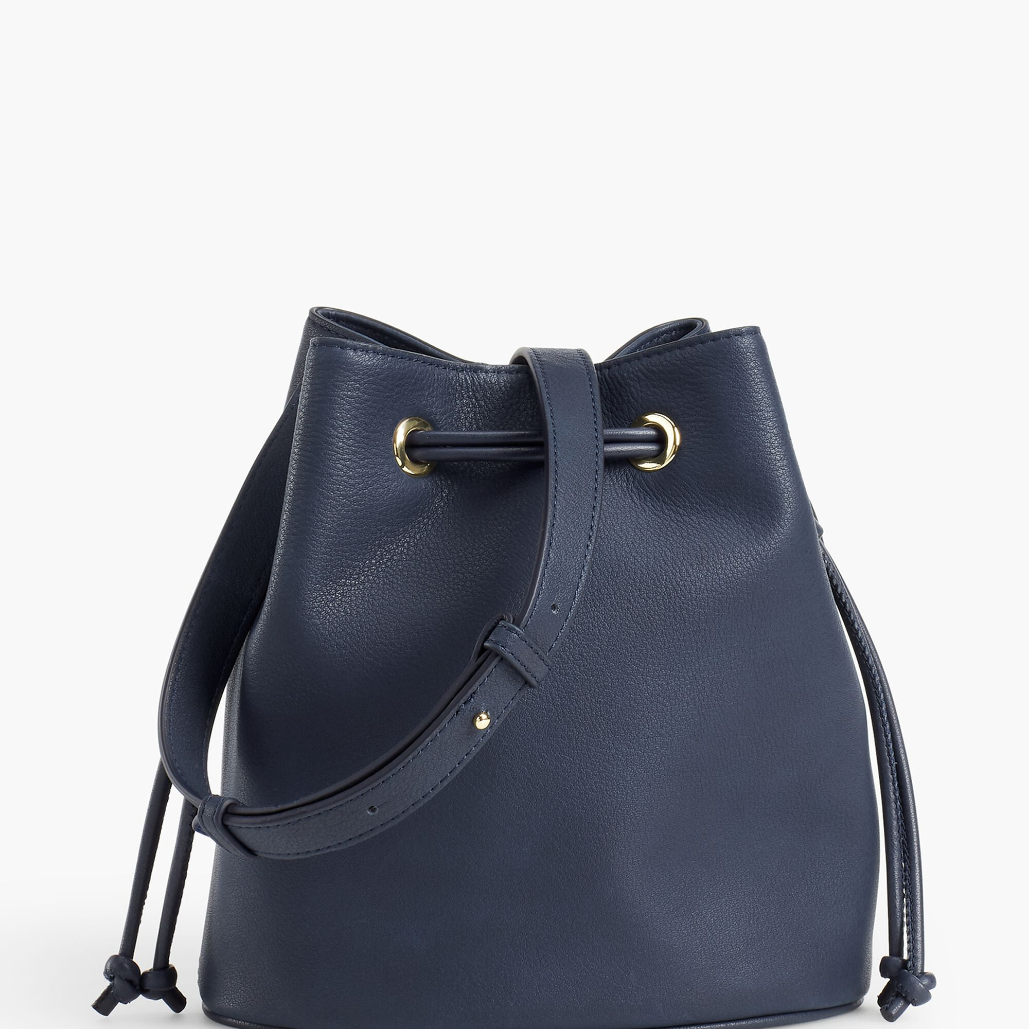 Images. Drawstring Bucket Bag - Pebble Leather 7ff3b46e285a2