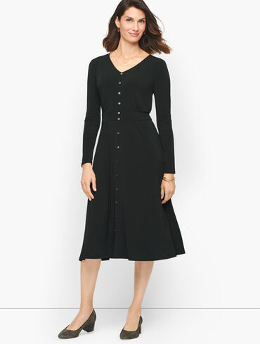 Jersey Midi Dress - Polished Crepe
