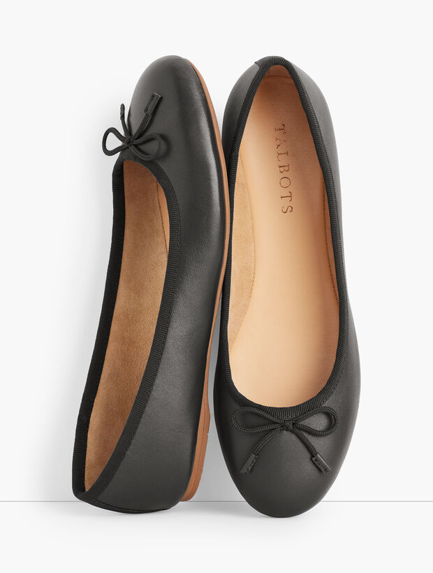 Penelope Ballet Flats - Nappa Leather