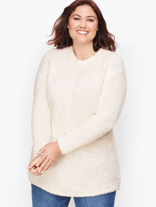 Plush Crewneck Sweater