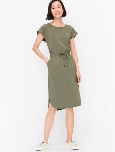 Lightweight Stretch Midi Dress