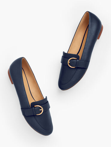 Ryan Buckle Loafers - Solid